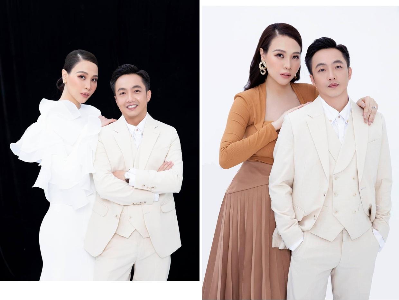 Cường Đôla và Đàm Thu Trang và khung ảnh thời trang