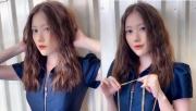 Em gái Trấn Thành gây bất ngờ khi xuất hiện với diện mạo mới