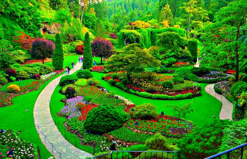 Vườn hoa thu hút hơn 1 triệu du khách mỗi năm của Canada