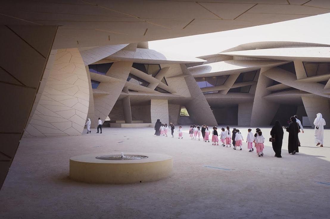 Vẻ đẹp trừu tượng đầy lôi cuốn của Bảo tàng Quốc gia Qatar