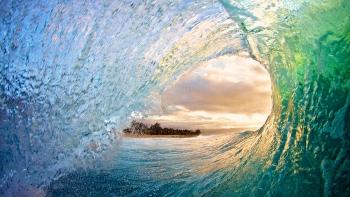 """""""Vẻ đẹp"""" và sự kỳ diệu của những con sóng biển"""