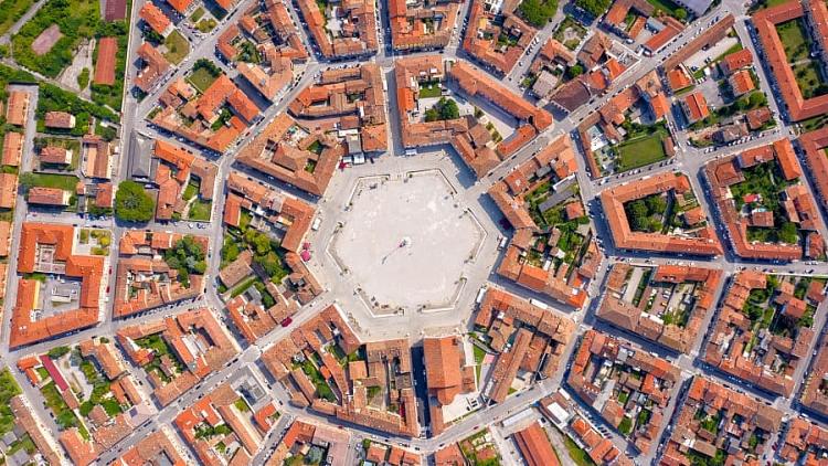 Những thành phố hình ngôi sao của Châu Âu - những tuyệt tác của kỹ thuật thời Phục hưng