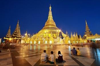 Chùa Shwedagon – ngôi chùa nạm kim cương linh thiêng nhất Myanmar
