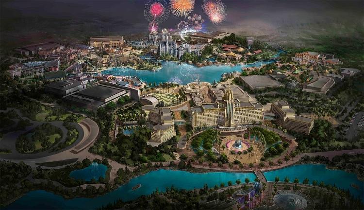 Sự trở lại của hàng loạt công viên giải trí trong năm 2021