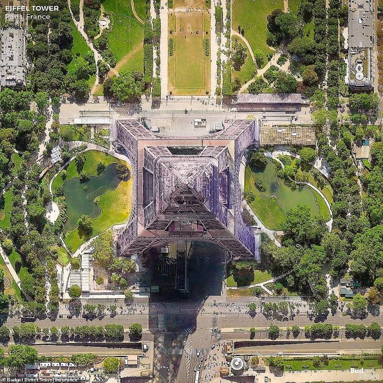 Những tòa nhà gây ấn tượng với khung cảnh tuyệt đẹp từ góc nhìn trên cao