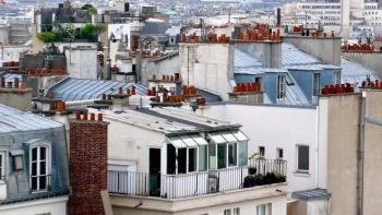 Câu chuyện về chiếc ống khói trên những mái nhà ở Paris