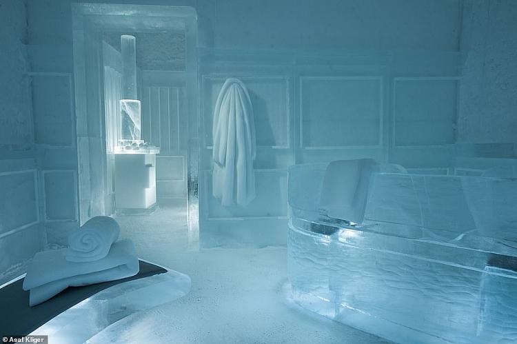 Những hình ảnh đầu tiên về khách sạn Icehotel, Thụy Điển trong tương lai