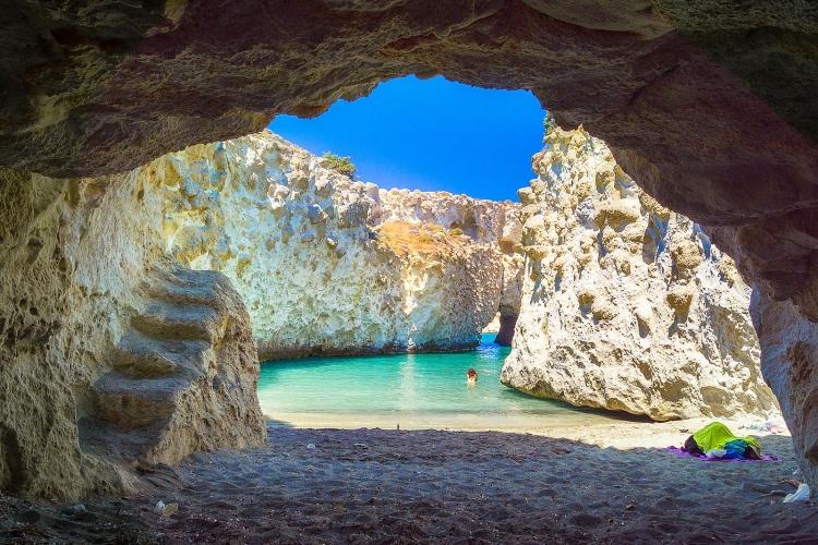 Những địa điểm ở MiLos, Hy Lạp mang đến những bức ảnh ấn tượng dành cho bạn