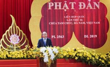 thu tuong nguyen xuan phuc phat bieu tai dai le vesak 2019