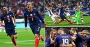 Pháp và Bồ Đào Nha giành 3 điểm, Hà Lan thắng với tỷ số tennis