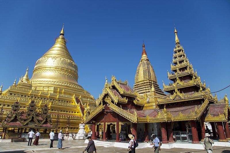 Đến Shwezigon: Ngôi chùa dát vàng đầu tiên và linh thiêng nhất ở Myanmar