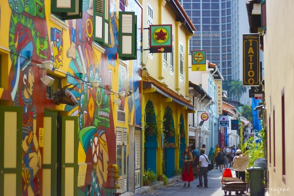 Khám phá Haji Lane: Con đường mua sắm đầy cá tính ở Singapore
