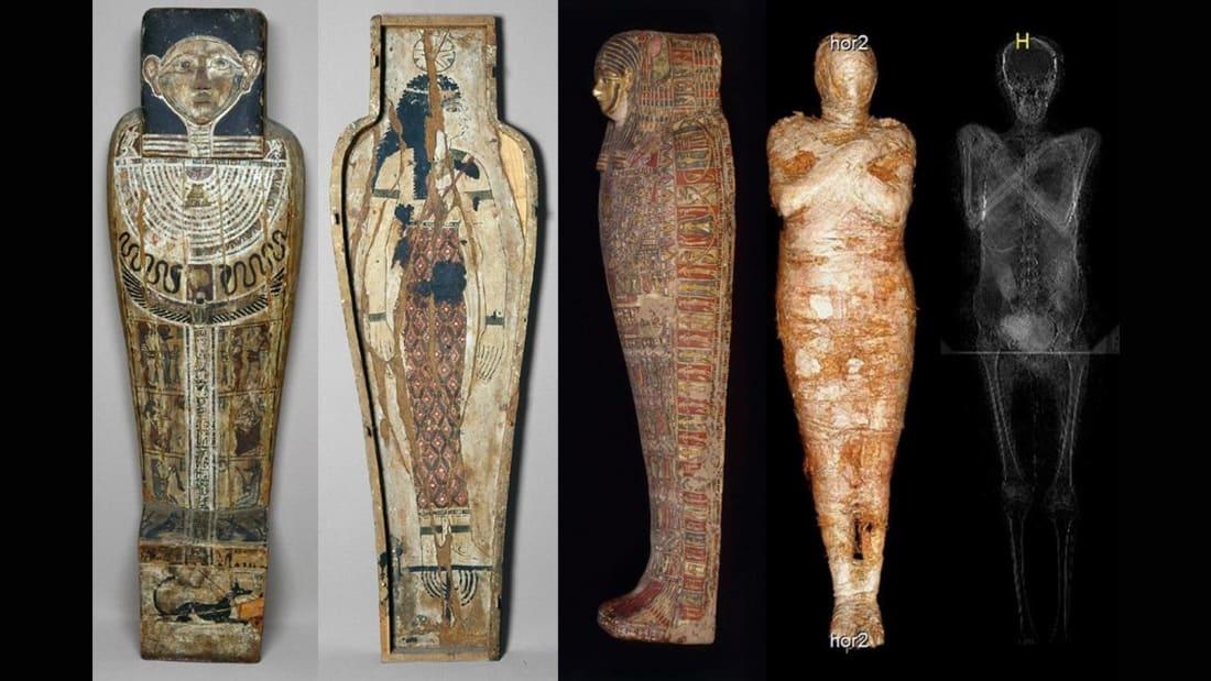Xác ướp Ai Cập cổ đại đầu tiên trên thế giới có bào thai, điều khiến chuyên gia kinh ngạc là gì?