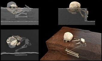 Ngôi mộ cổ nhất châu Phi có chứa thi hài của một đứa trẻ