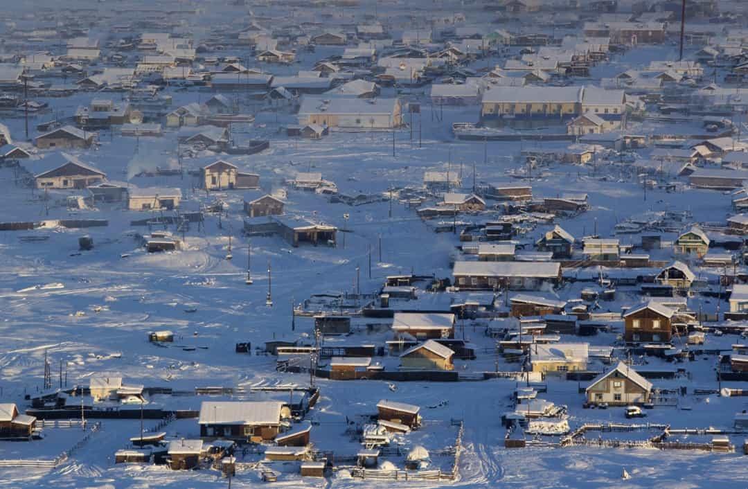 Đến với thị trấn Oymyakon, nơi lạnh nhất trên Trái đất có người ở