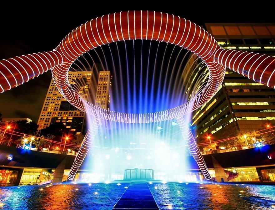 Những đài phun nước lộng lẫy, hoành tráng trên thế giới