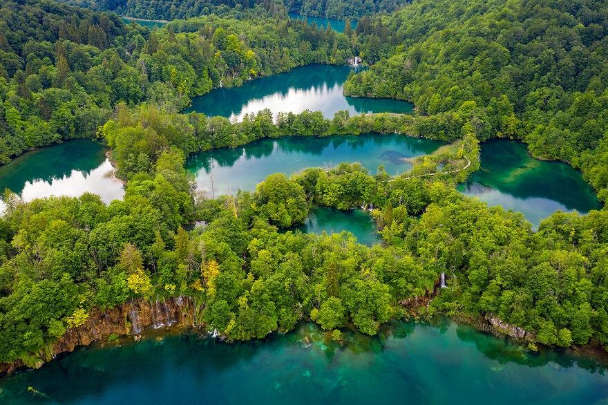 Ngắm nhìn vẻ đẹp mê hoặc của hồ Plitvice, Croatia