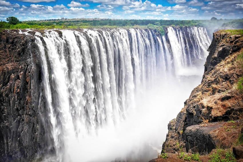 Choáng ngợp trước những thác nước hùng vĩ nhất châu Phi - 2