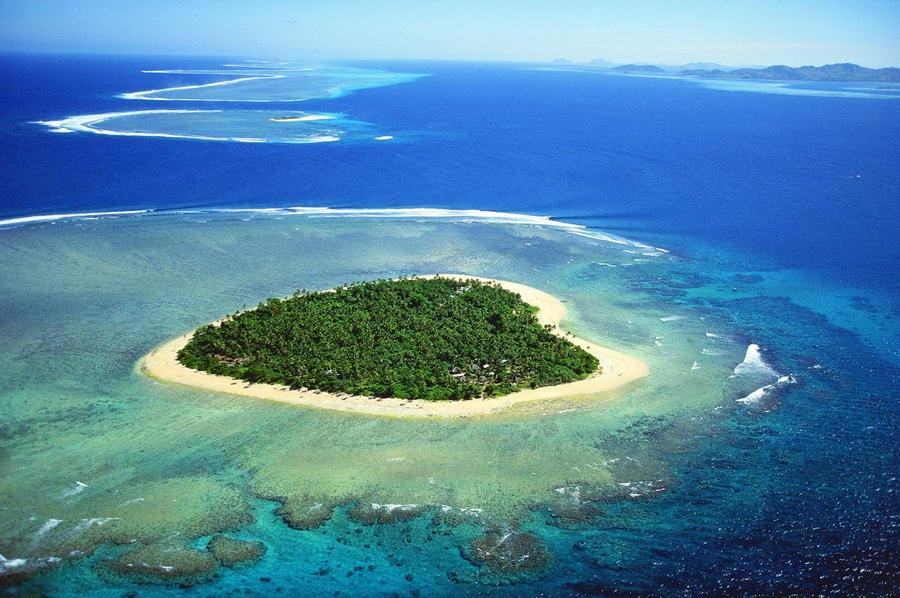 7 hòn đảo tự nhiên có hình dáng