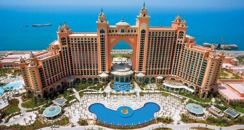5 khách sạn sang trọng và đẳng cấp bậc nhất Dubai