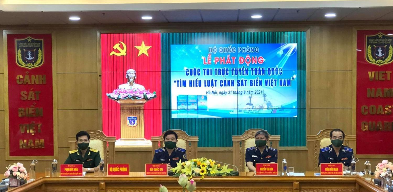 Cuộc thi trực tuyến toàn quốc tìm hiểu Luật Cảnh sát biển Việt Nam sẽ diễn ra trong một tháng.