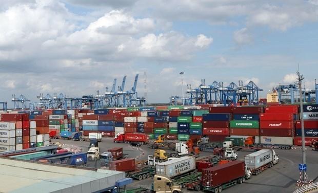 Cơ quan quản lý về hàng hải vừa đề nghị các doanh nghiệp cảng biển không tăng giá dịch vụ hoặc không thu các dịch vụ phát sinh trong thời gian thực hiện biện pháp phòng dịch. Ảnh minh họa: TTXVN