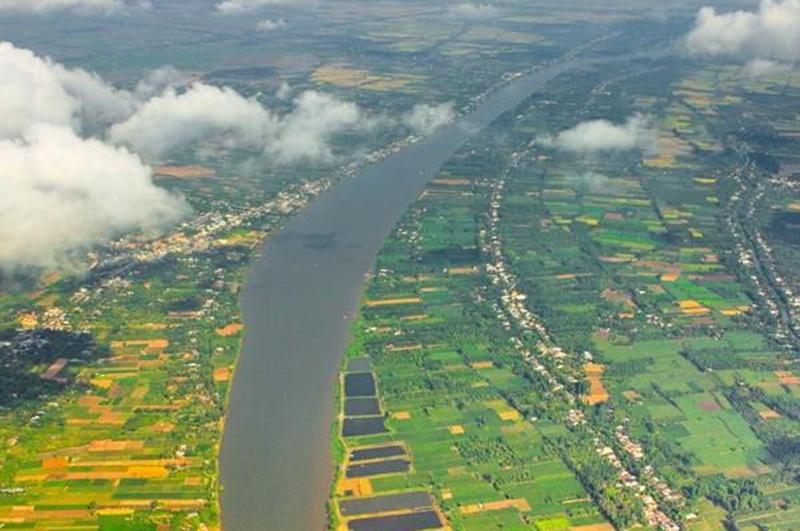 Lưu vực sông Mekong. (Ảnh: Duy Khương/TTXVN)