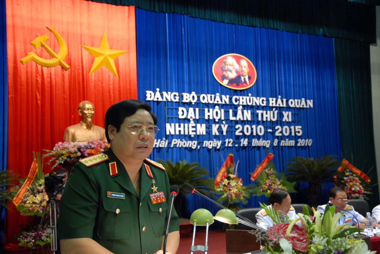 Đại tướng Phùng Quang Thanh luôn quan tâm đến biển, đảo và dành tình cảm đặc biệt đối với bộ đội Hải quân