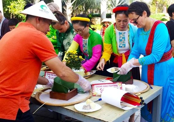 Lễ hội Bánh chưng đón tết Canh Tý tại The Cliff Resort
