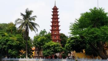 Ngắm vẻ đẹp của ngôi chùa thiêng giữa thủ đô