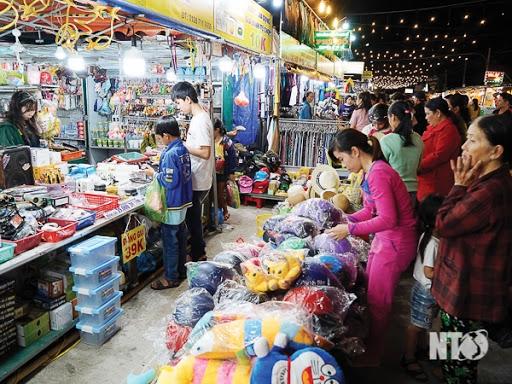 Chợ đêm du lịch Ninh Thuận - Xuân Tân Sửu