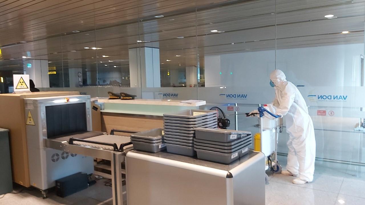 Đảm bảo an toàn phòng dịch, Cảng hàng không Quốc tế Vân Đồn sẵn sàng mở cửa đón khách