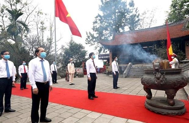 Giỗ Tổ Hùng Vương năm nay chỉ tổ chức phần Lễ