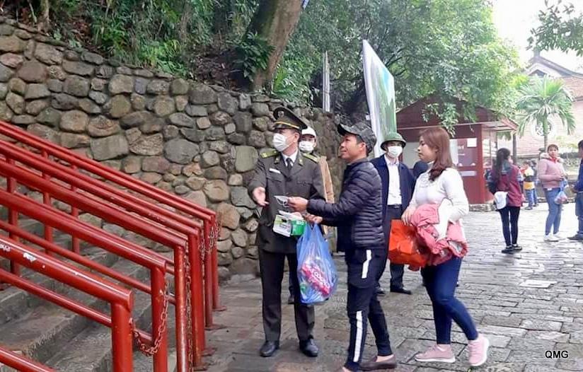 Du khách đến Yên Tử có xu hướng tăng dần