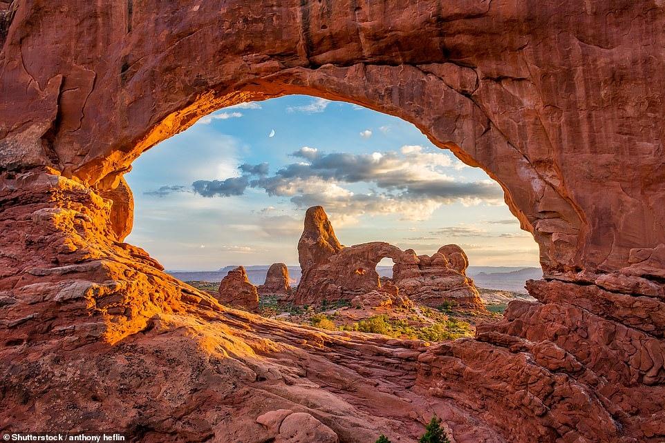Vẻ đẹp hùng vĩ của công viên quốc gia ở Mỹ