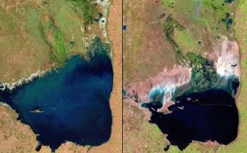 Sự thay đổi của Trái đất trong 70 năm qua ảnh vệ tinh