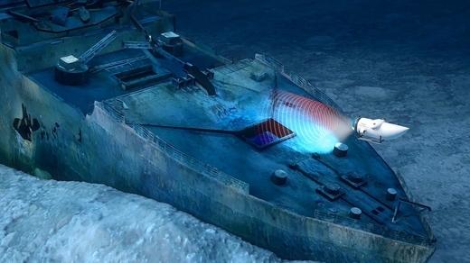 cung tham hiem xac con tau titanic