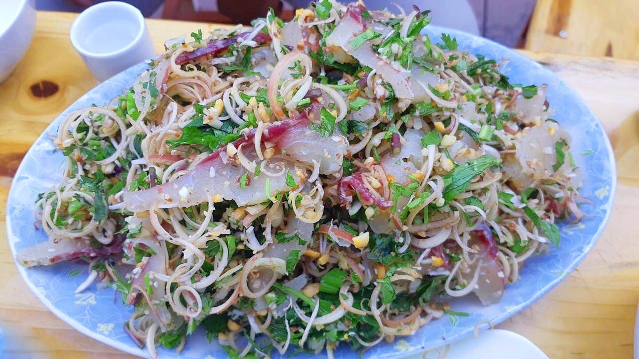 Đặc sản gỏi cá dân tộc Thái Lai Châu