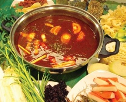 Đậm đà hương vị lẩu hải sản Phan Thiết