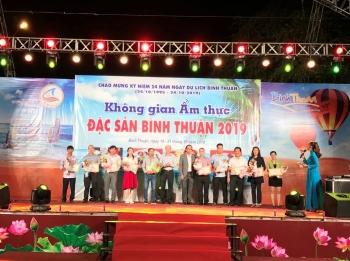 khai mac khong gian am thuc dac san binh thuan 2019