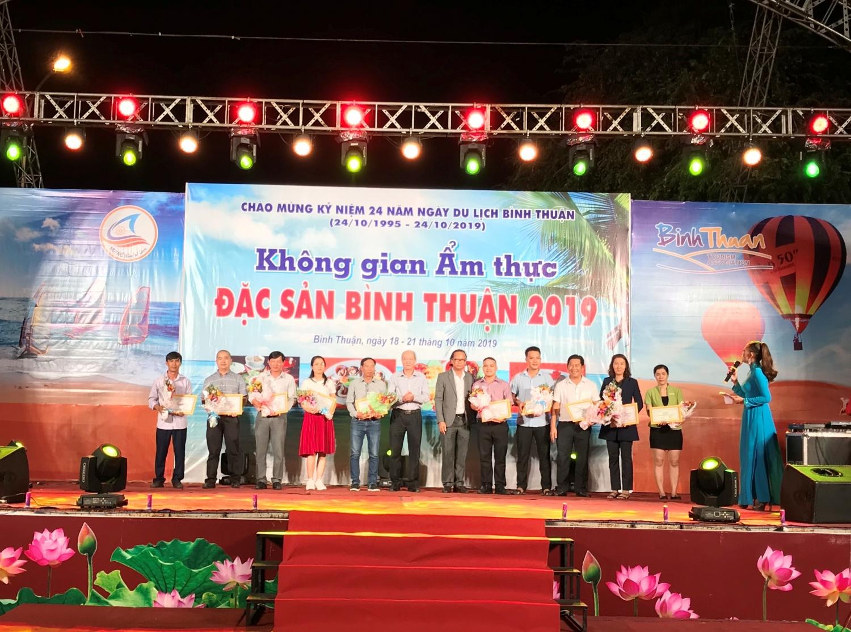 Khai mạc Không gian Ẩm thực, đặc sản Bình Thuận 2019