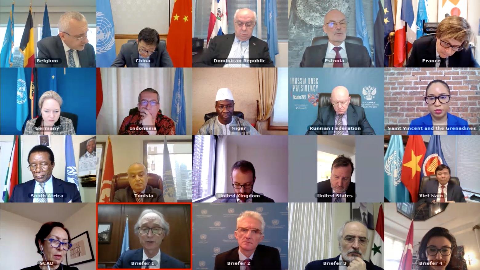 Hội đồng Bảo an thảo luận định kỳ về khủng hoảng chính trị và nhân đạo tại Syria