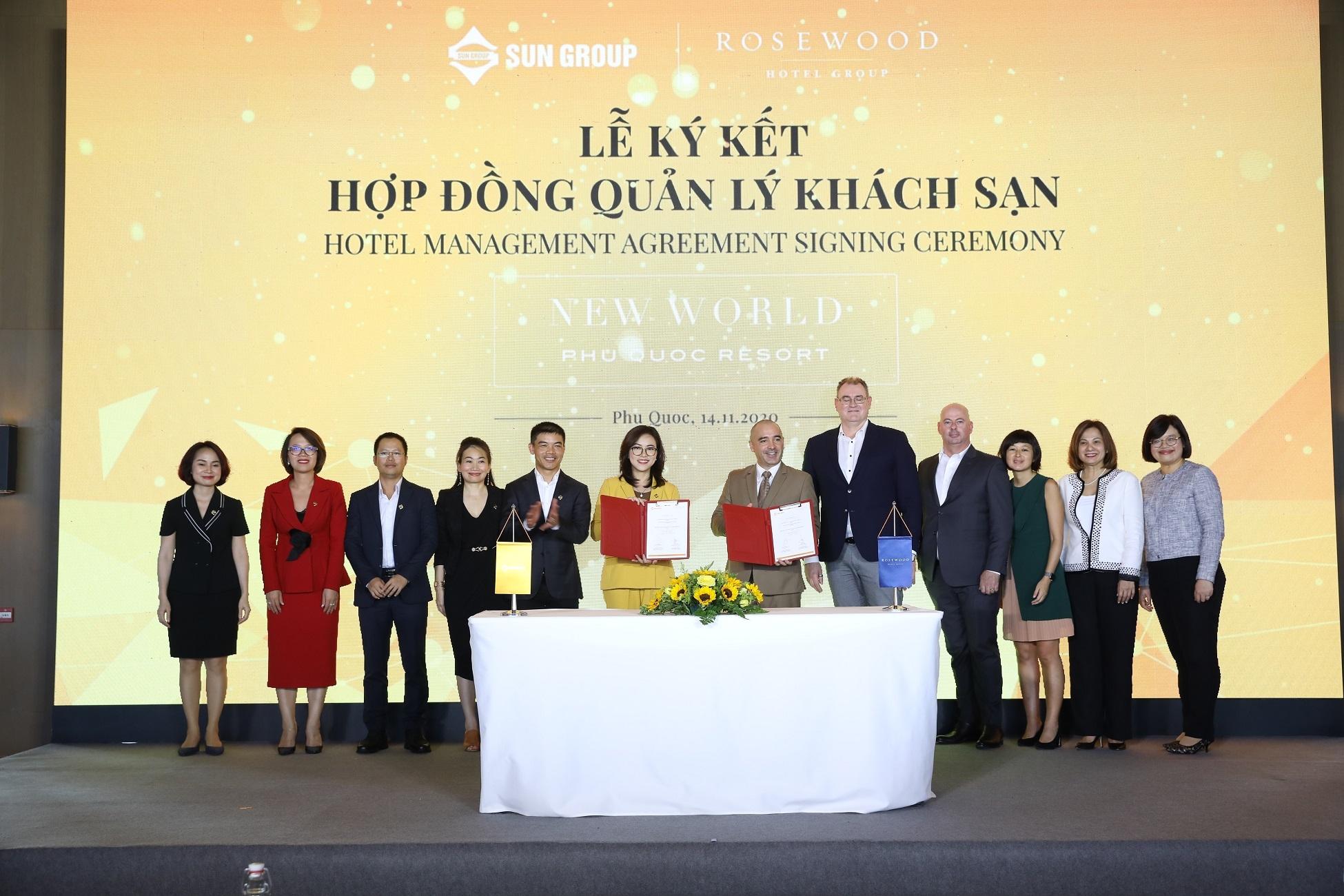 Rosewood Hotel Group sẽ quản lý Khu nghỉ dưỡng New World Phu Quoc Resort tại Nam Phú Quốc