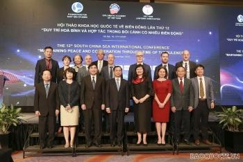 """Hội thảo khoa học quốc tế về Biển Đông lần thứ 12- """"Duy trì hòa bình và hợp tác trong bối cảnh có nhiều biến động"""""""