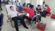 Ban QLDA ĐLDK Sông Hậu 1 tổ chức Ngày hội hiến máu nhân đạo