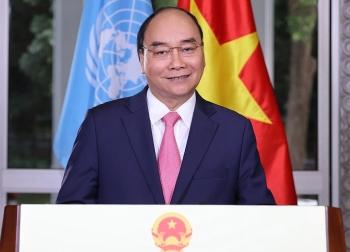 Thủ tướng CP Nguyễn Xuân Phúc gửi thông điệp tại Phiên họp đặc biệt của Đại hội đồng LHQ về ứng phó Đại dịch Covid-19